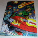 1994 GI Joe 30th Salute #38 Cover gi joe #47 Trading card